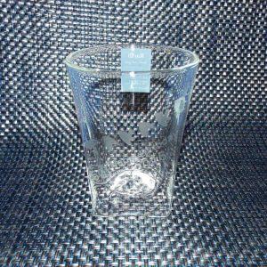 300mlのダブルウォールグラス(名入れ彫刻済)