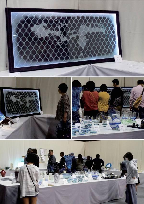 沖展70回ガラス部門 砂川泰典の作品