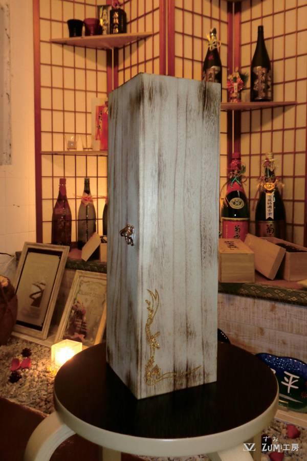 一升瓶用の木箱